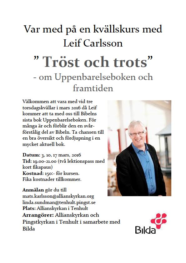 Leif Karlsson affisch